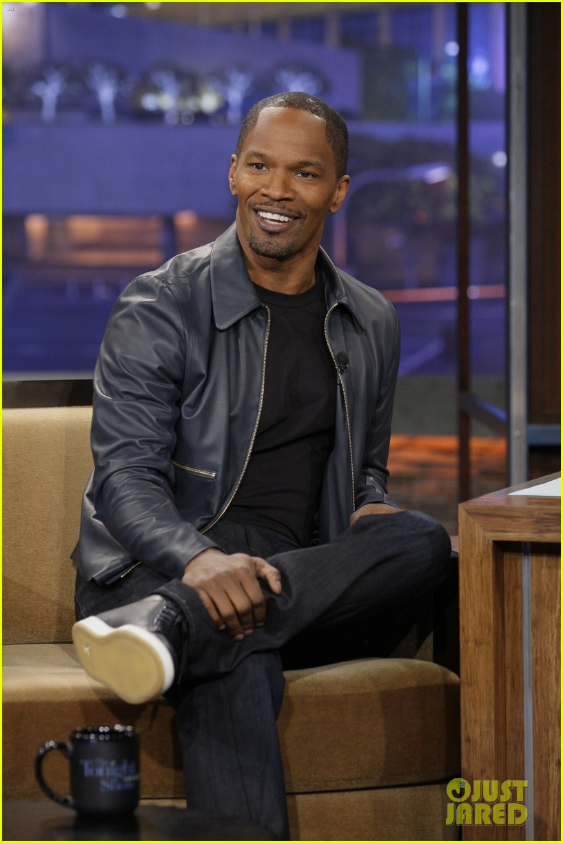 jamie foxx tonight show with jay leno appearance 01