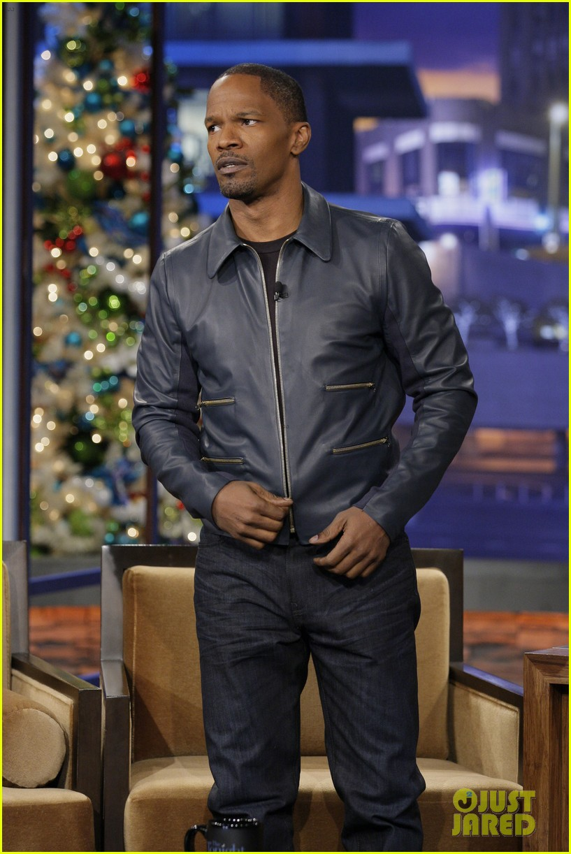 jamie foxx tonight show with jay leno appearance 022778670