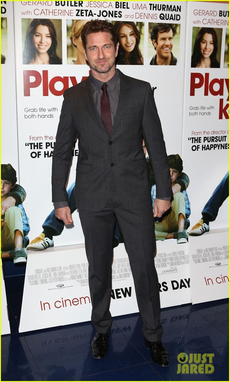 gerard butler playing for keeps london screening 01