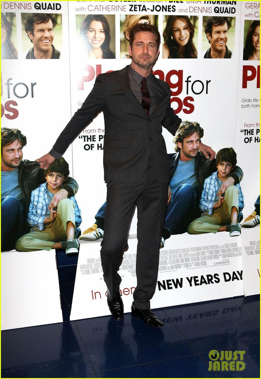 gerard butler playing for keeps london screening 03
