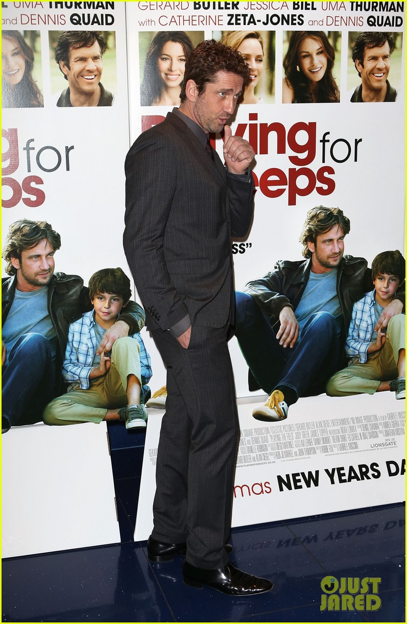 gerard butler playing for keeps london screening 13