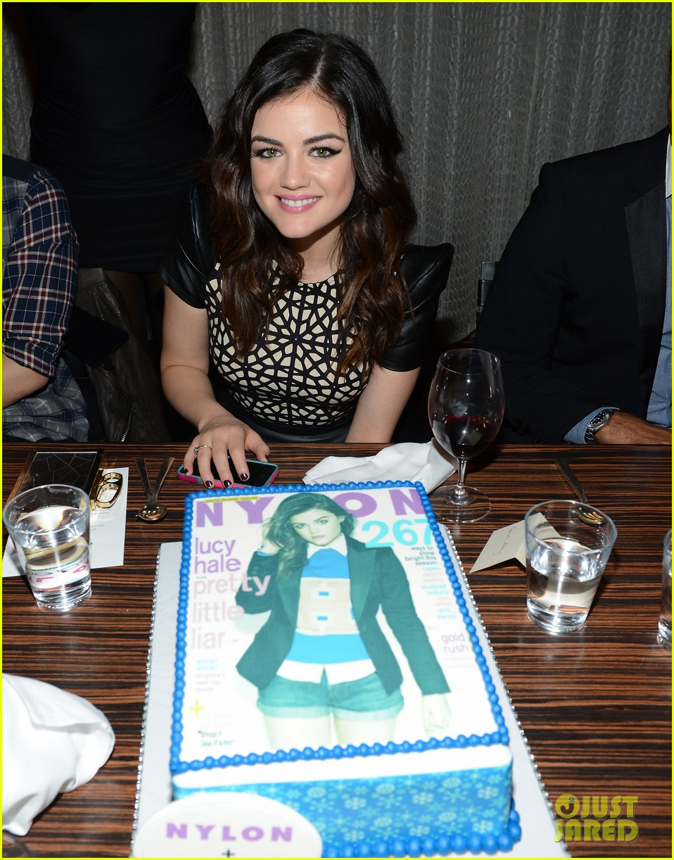 lucy hale zelda williams nylon mag celebration 04