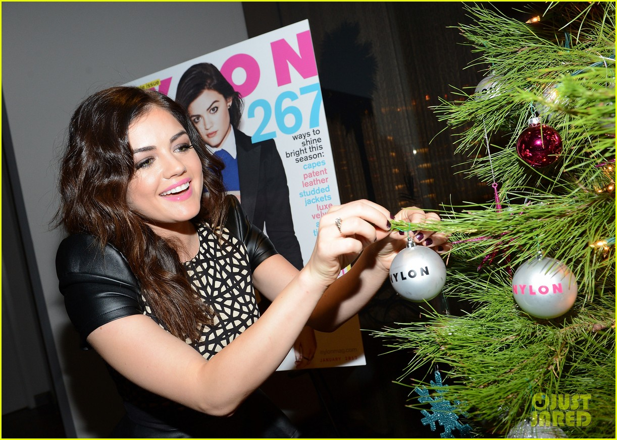 lucy hale zelda williams nylon mag celebration 092772078