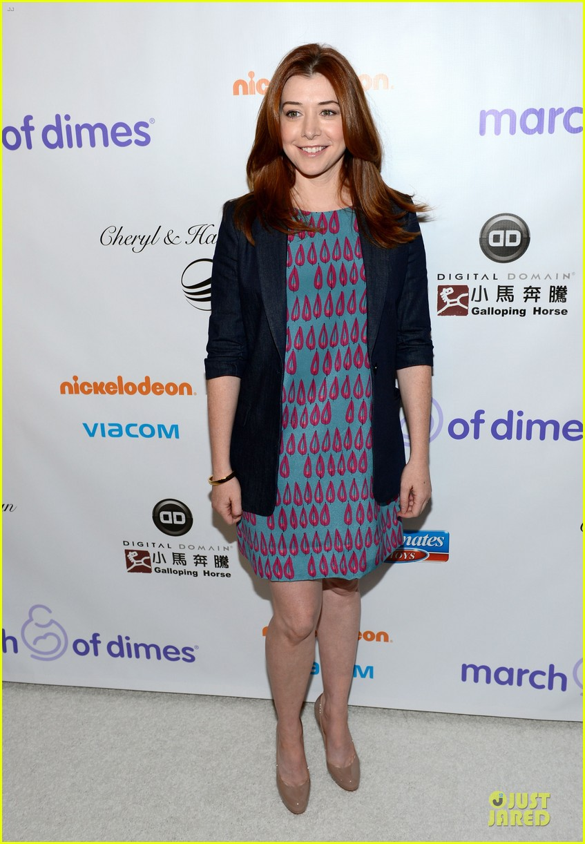 alyson hannigan & tom hanks march of dimes 2012 11
