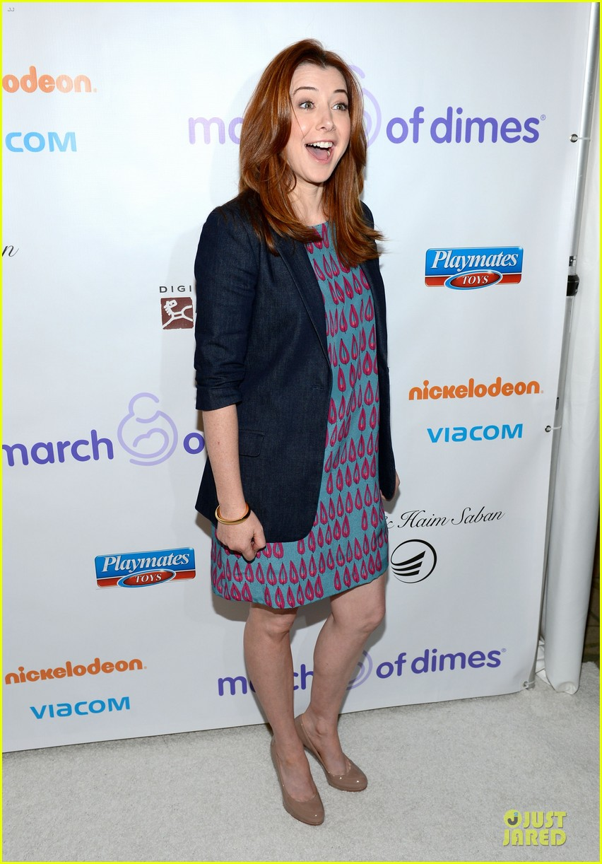 alyson hannigan & tom hanks march of dimes 2012 12