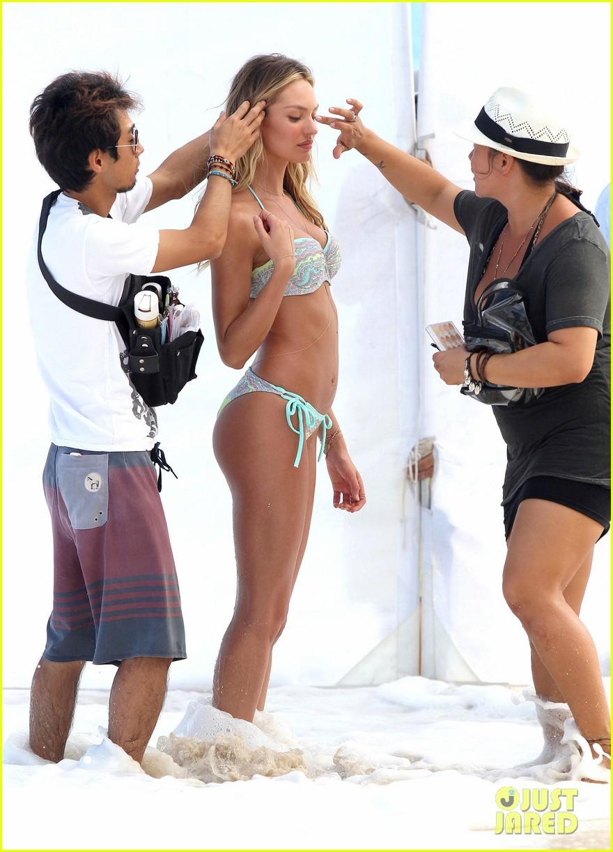 erin heatherton candice swanepoel st barts bikini shoot 22
