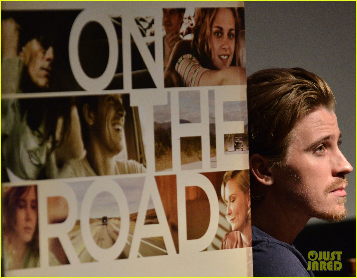 garrett hedlund on the road screening for the wrap 06
