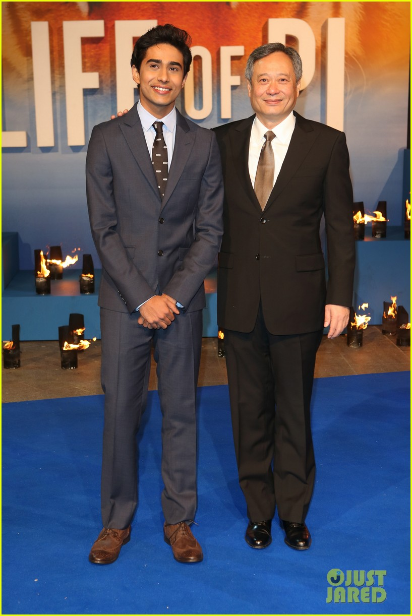 tom hiddleston suraj sharma life of pi uk premiere 18