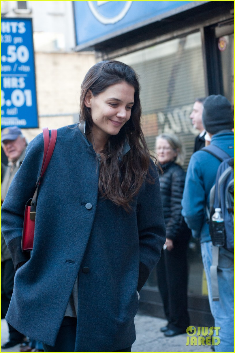 katie holmes back to work after birthday 11