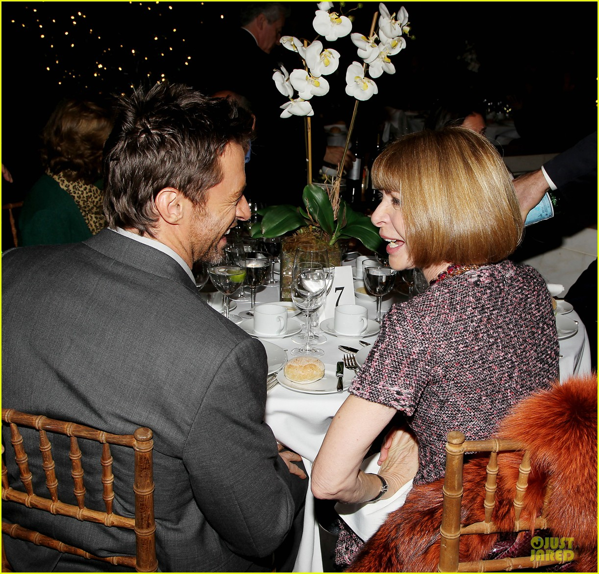 hugh jackman & eddie redmayne les miserables luncheon 232774021