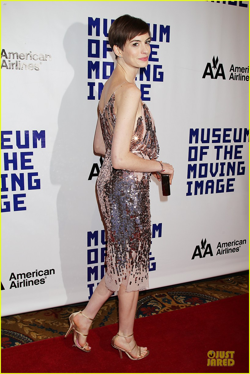 anne hathaway & hugh jackman museum of moving images salute 18