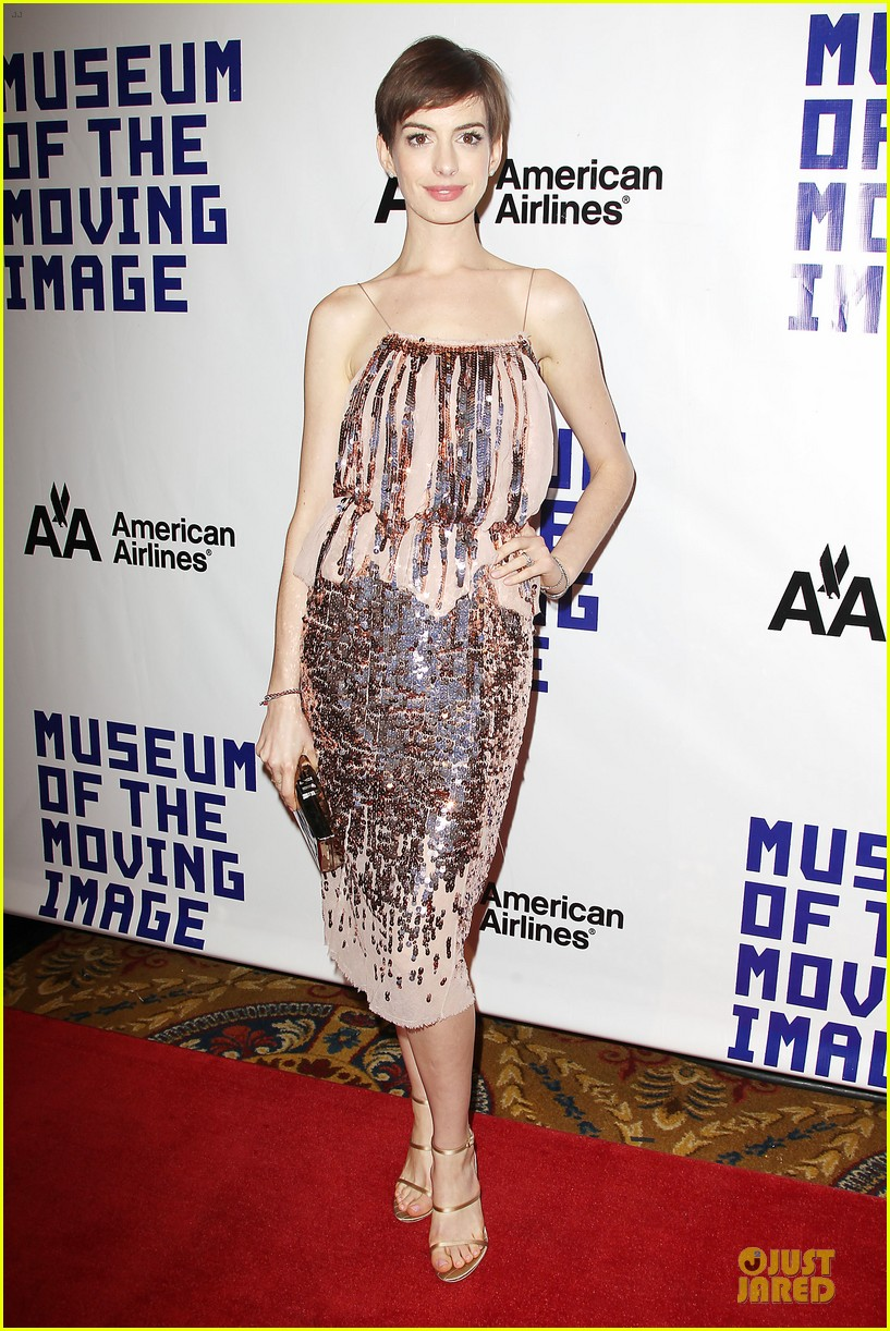 anne hathaway & hugh jackman museum of moving images salute 21