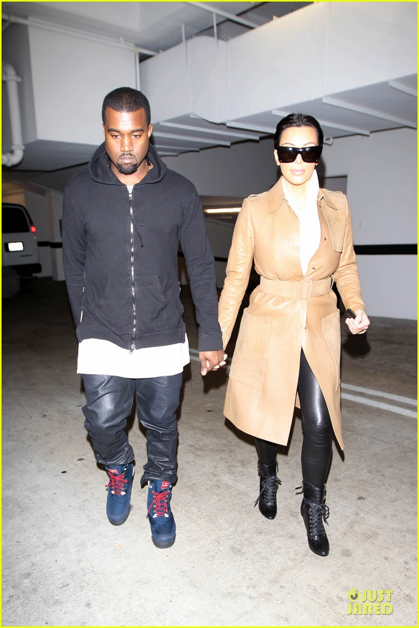 kim kardashian & kanye west beverly hills auctioning couple 01