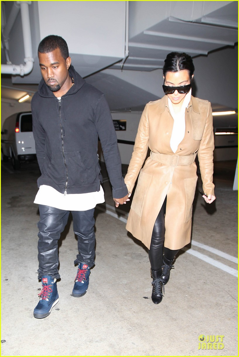 kim kardashian & kanye west beverly hills auctioning couple 15