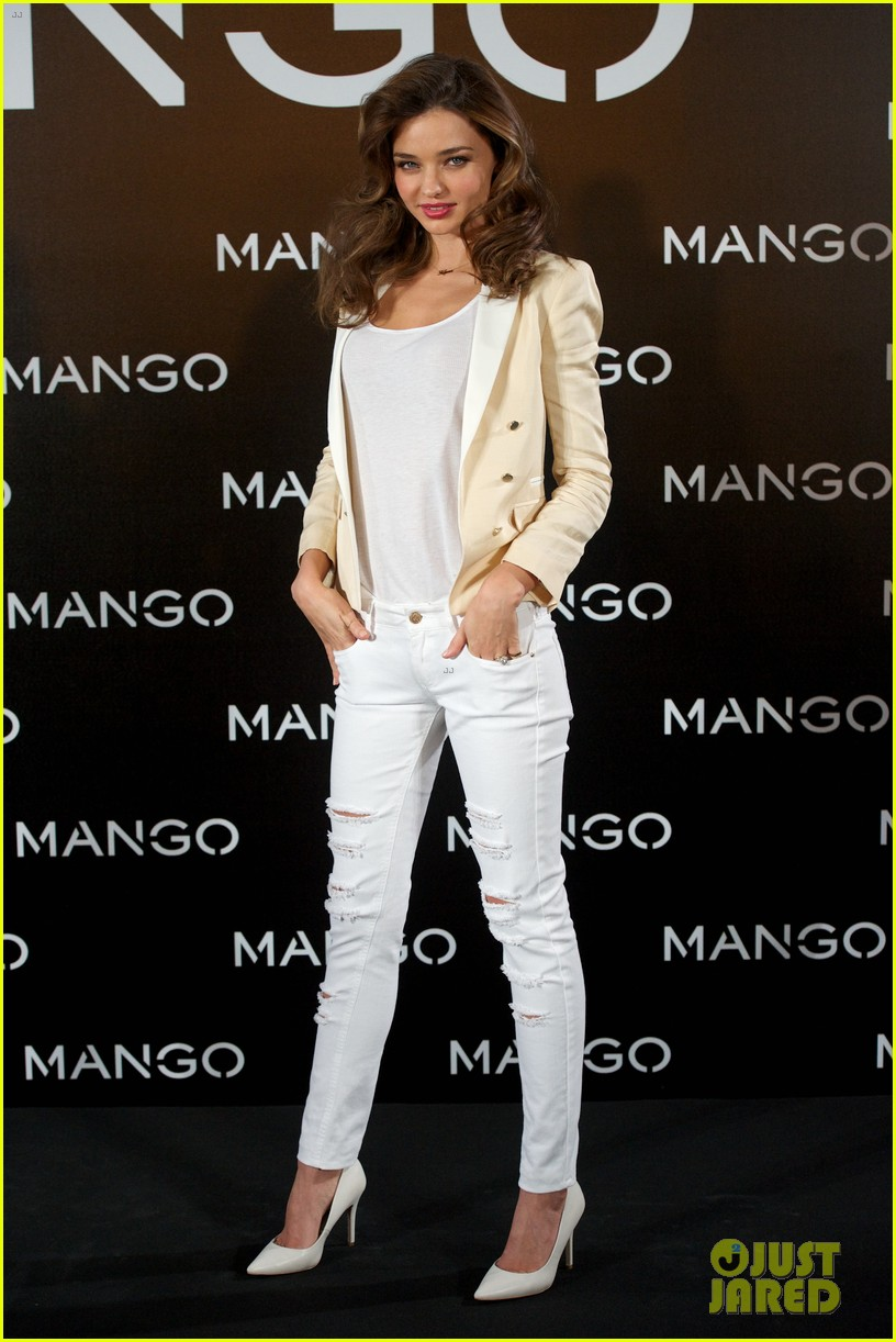 miranda kerr mango madrid photo call 01