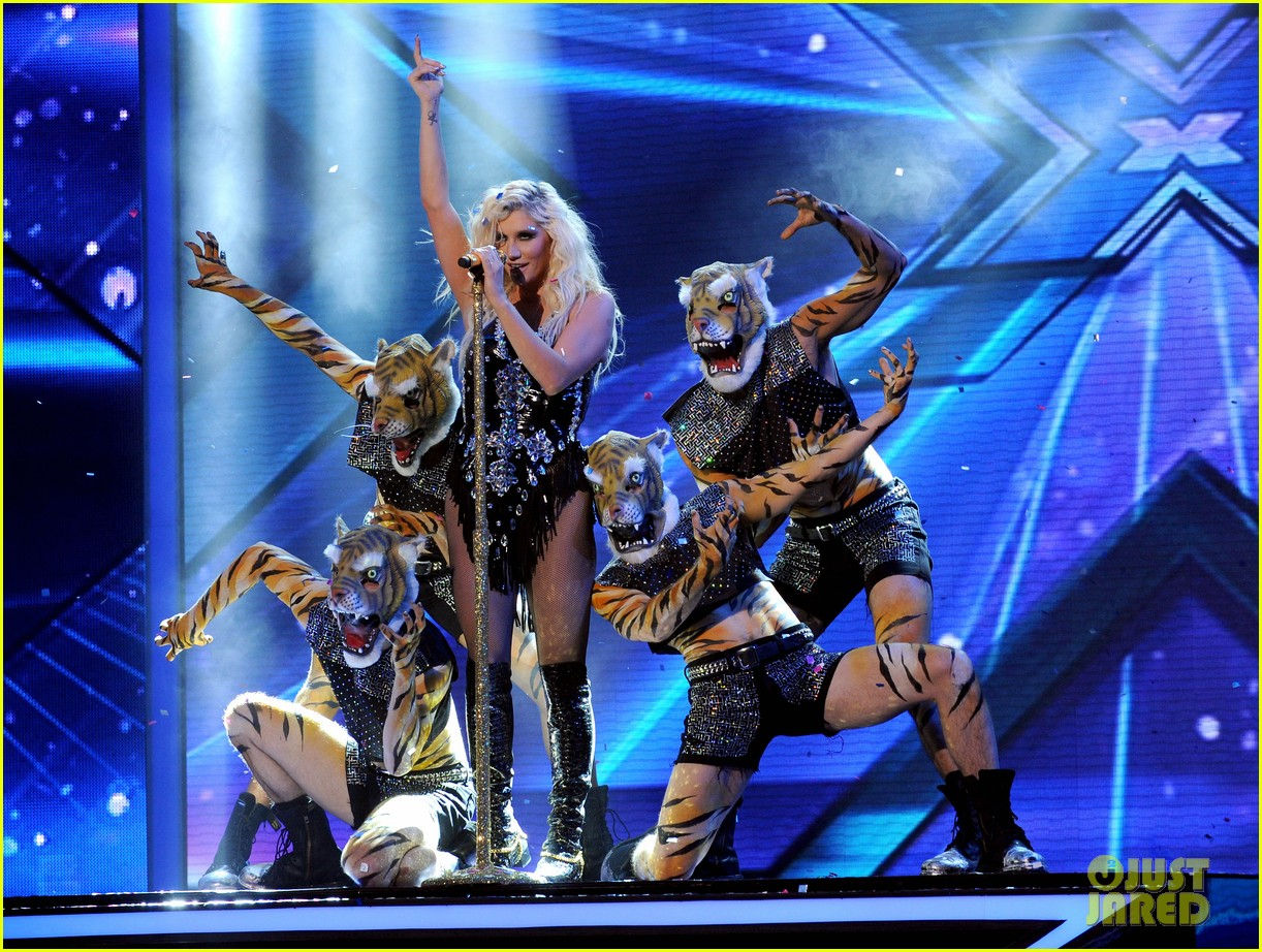 kesha performs cmon on the x factor watch now 02
