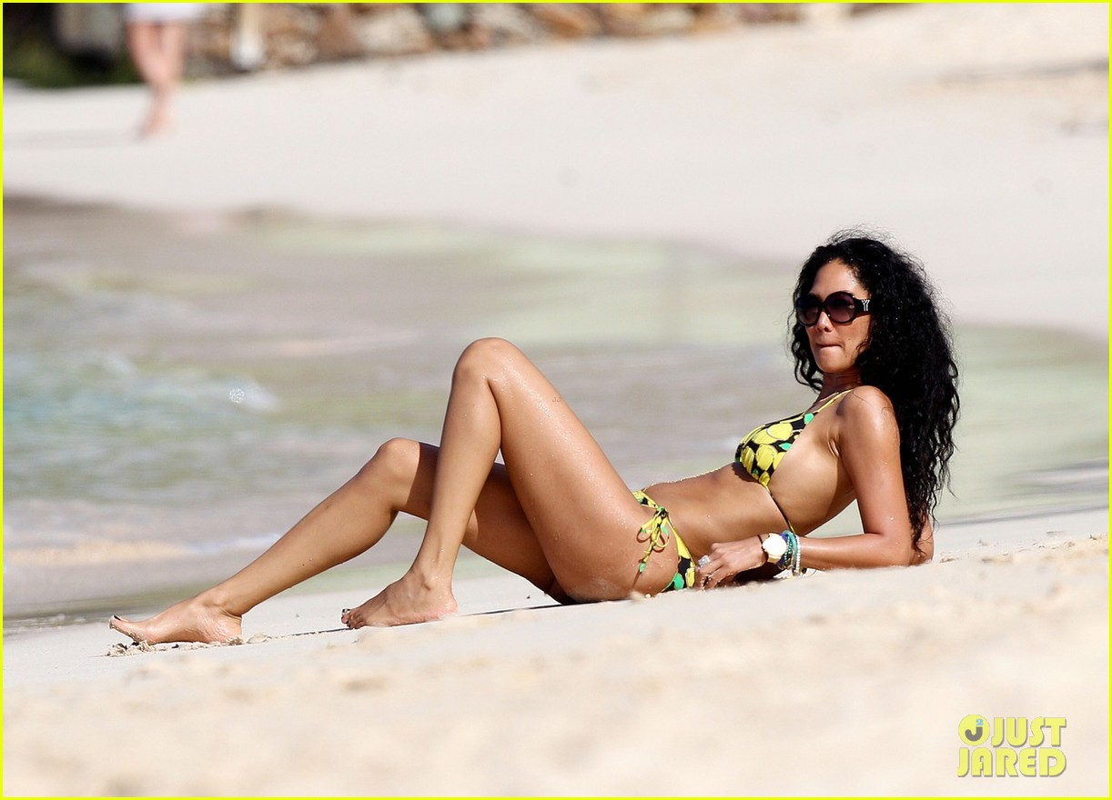 kimora lee simmons rocks bikini in st barts 022781357