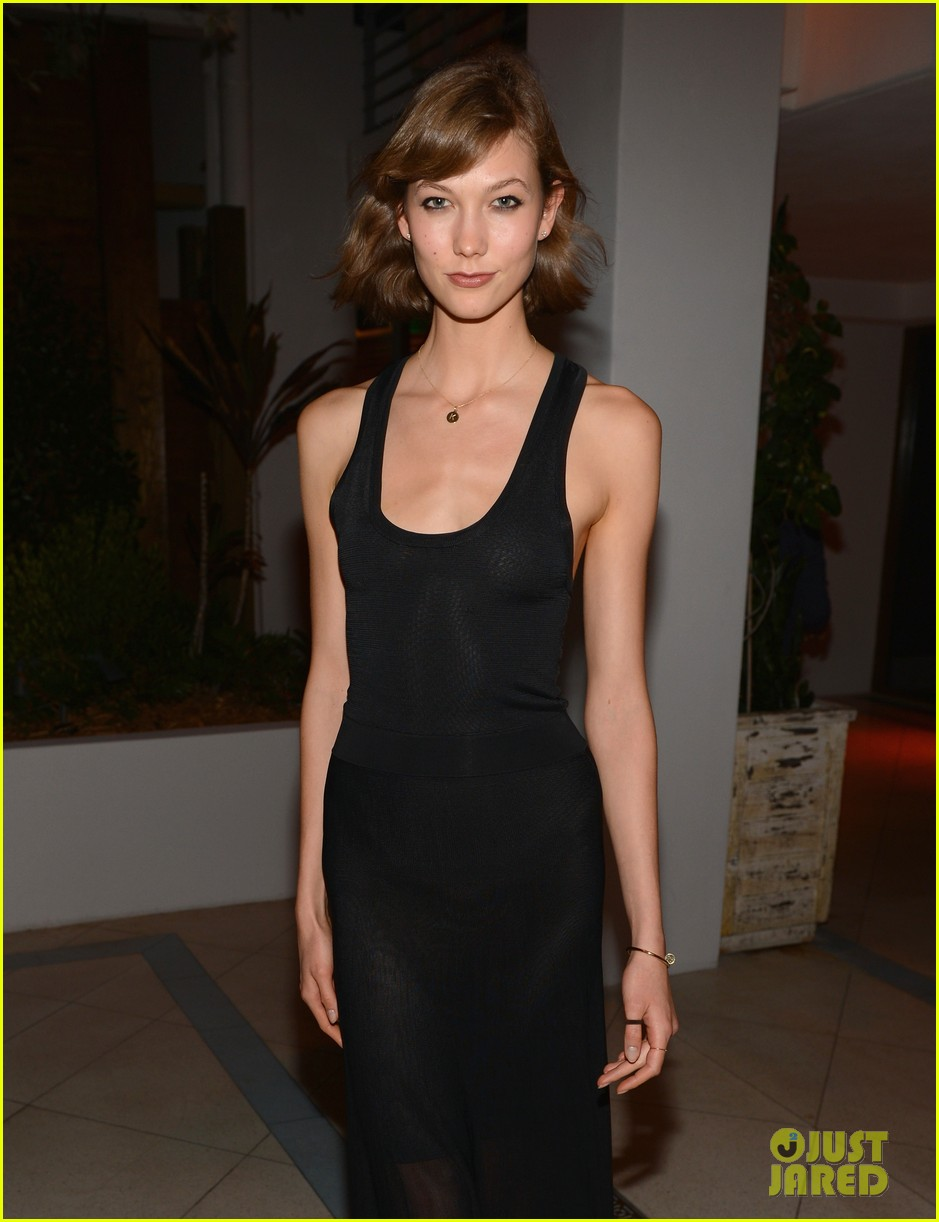 karlie kloss olga kurylenko chanel art basel dinner 07