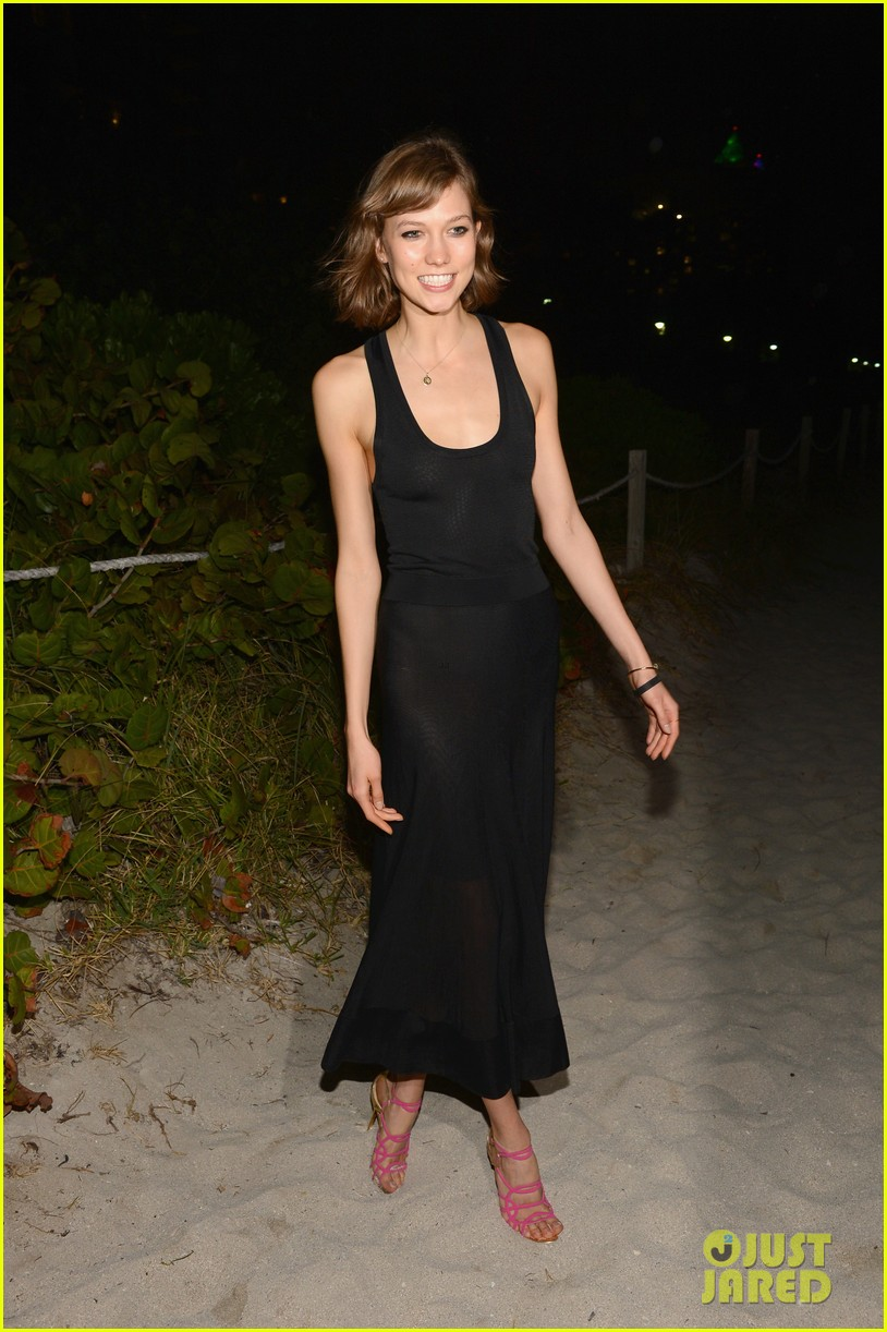 karlie kloss olga kurylenko chanel art basel dinner 13