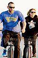 heidi klum martin kristen bike rides family 07