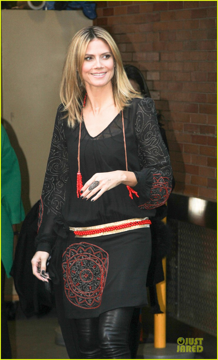 heidi klum good morning america appearance 152769249