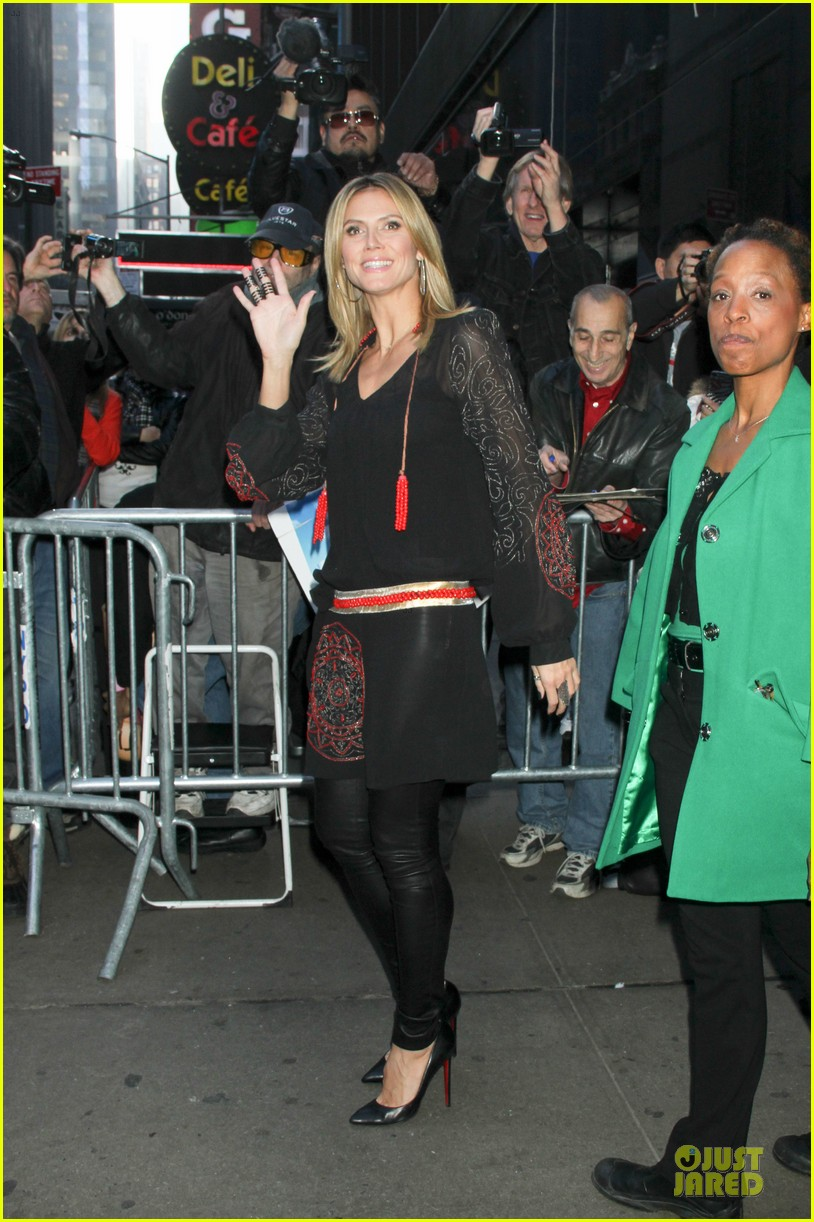 heidi klum good morning america appearance 182769252