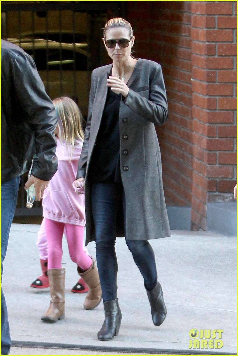 heidi klum martin kirsten lunch groceries with the kids 12
