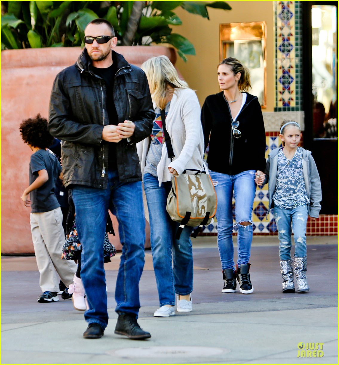 heidi klum martin kristen pretend city childrens museum with the kids 082781912