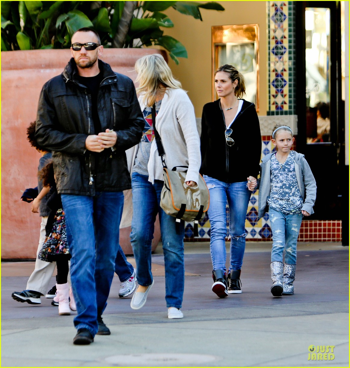 heidi klum martin kristen pretend city childrens museum with the kids 18