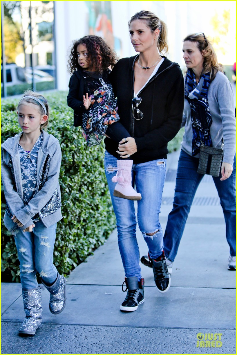 heidi klum martin kristen pretend city childrens museum with the kids 192781923