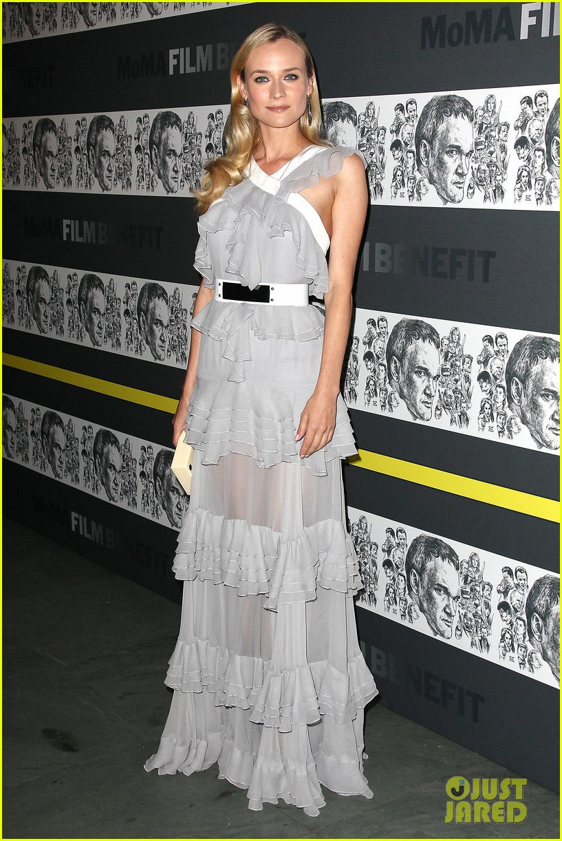 diane kruger quentin tarantino moma benefit 12