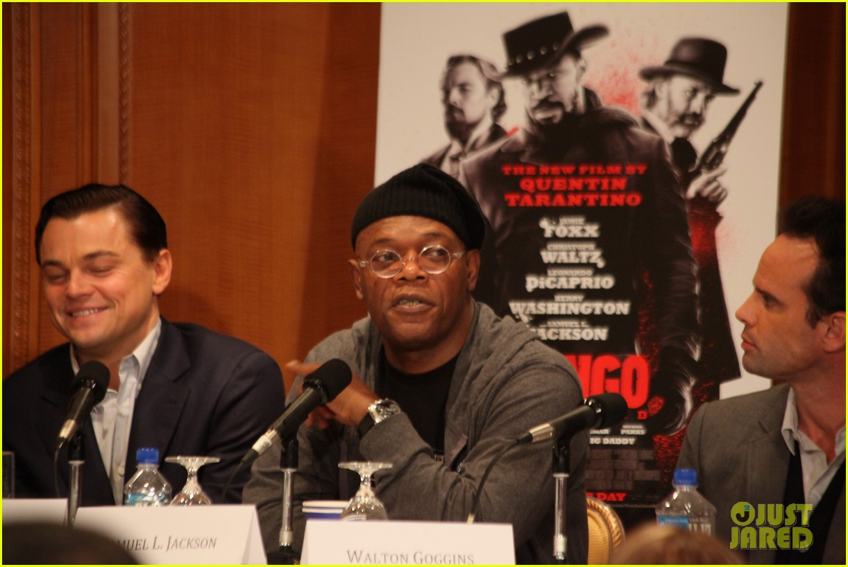 leonardo dicaprio kerry washington django unchained press conference 142776762