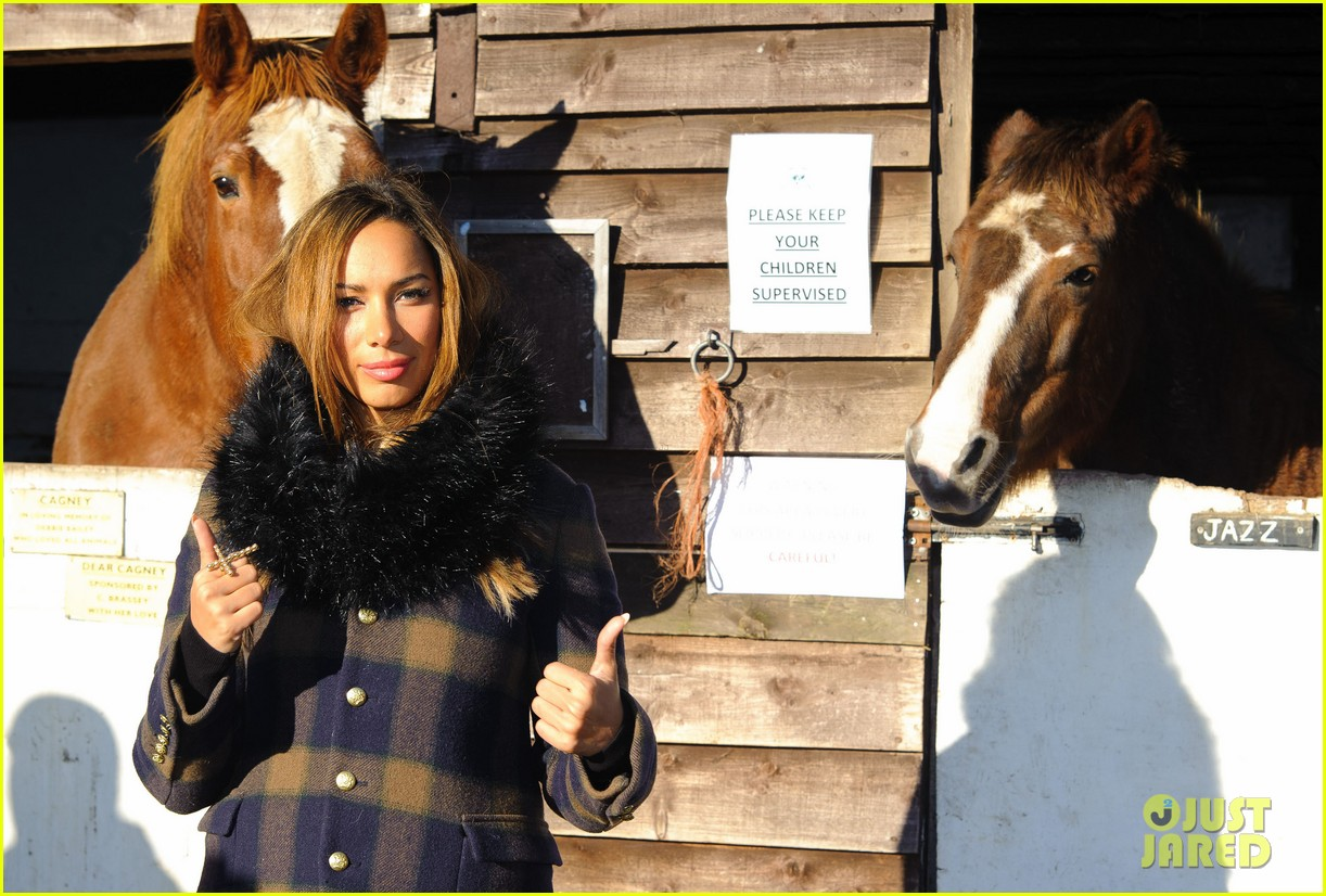 leona lewis hopefield animal sanctuary christmas fete 15