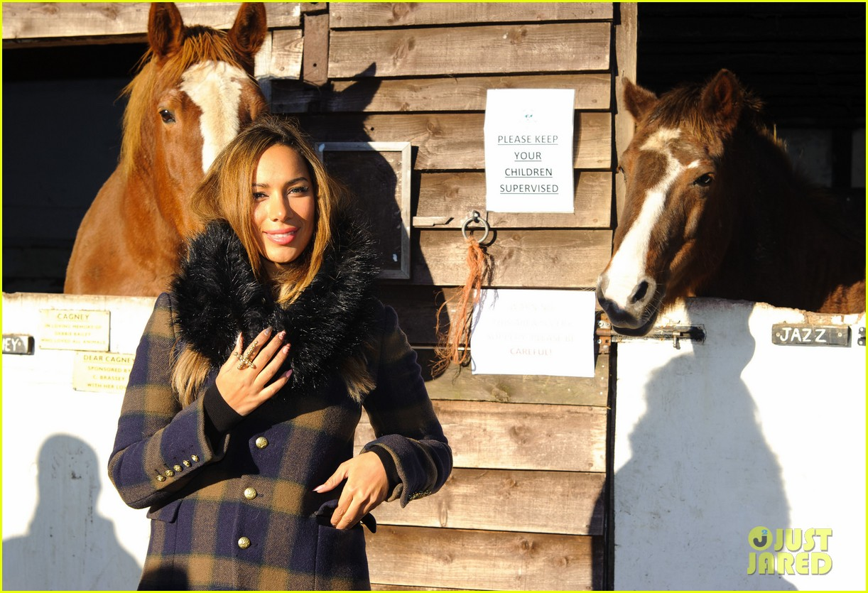 leona lewis hopefield animal sanctuary christmas fete 162767797