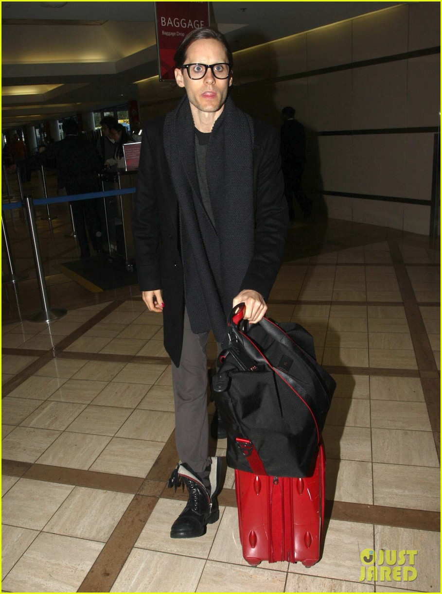 jared leto from lax to new orleans 03