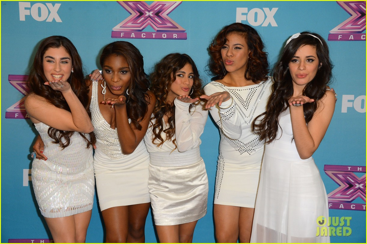 demi lovato fifth harmony x factor finale party 082778657