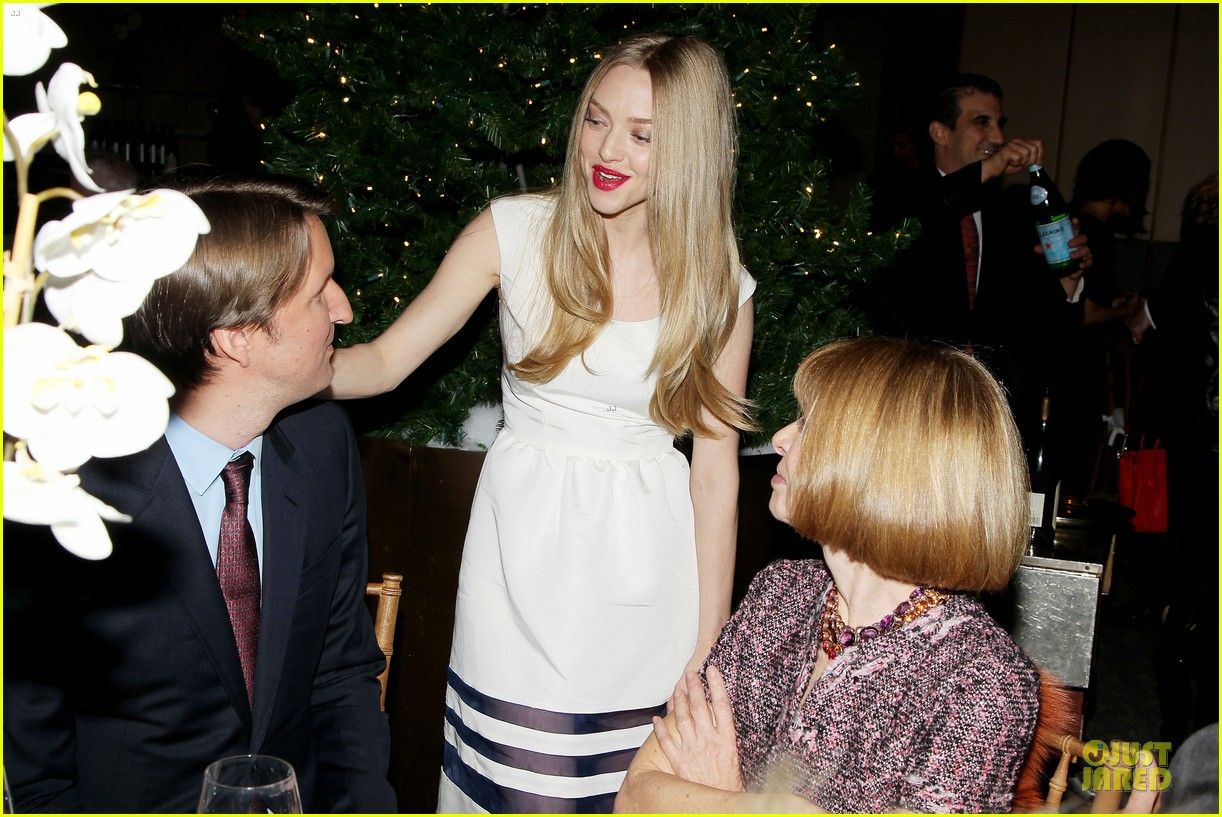 anne hathaway & amanda seyfriend les miserables luncheon 222773994