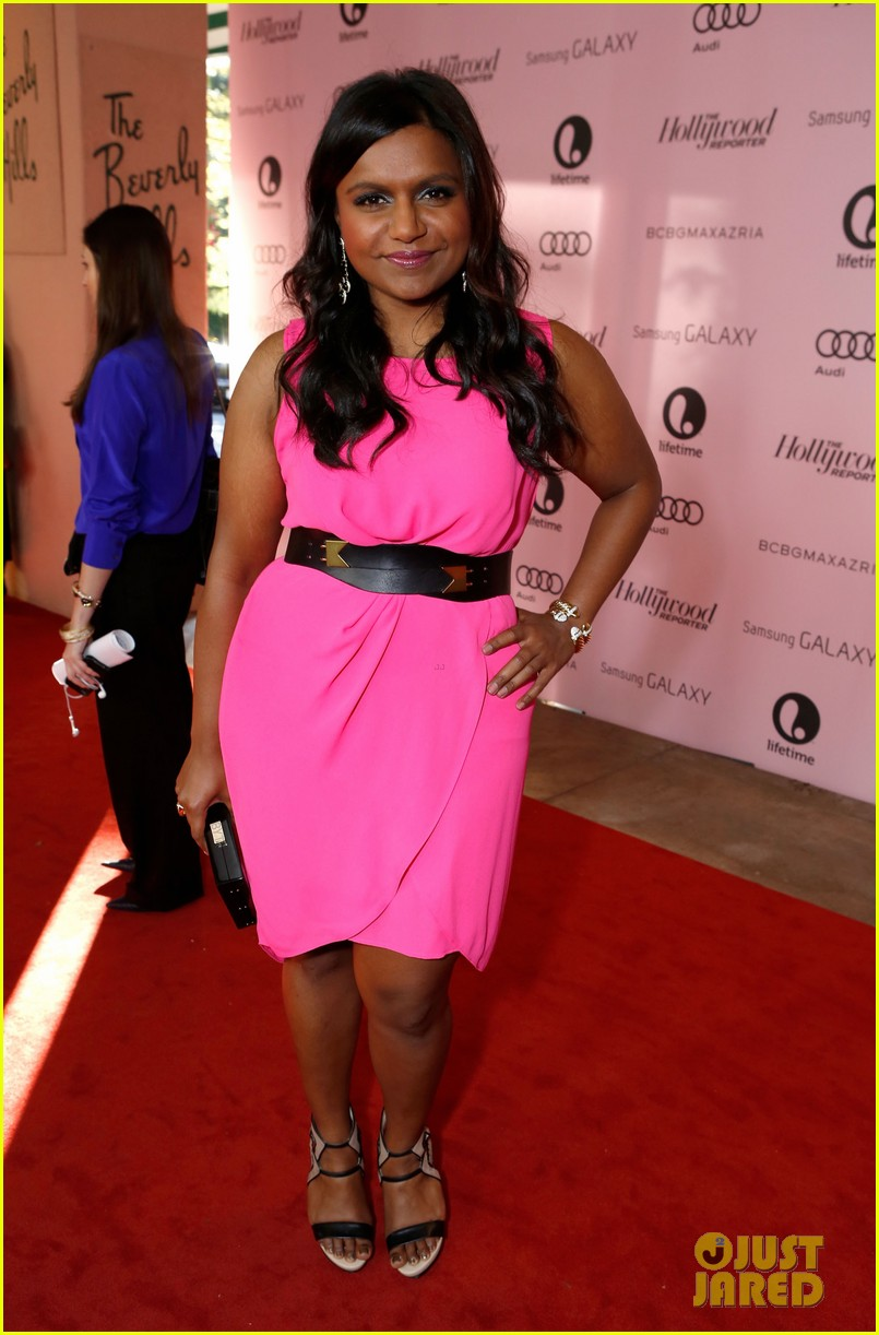 mindy kaling ashley madekwe thrs power 100 breakfast 06