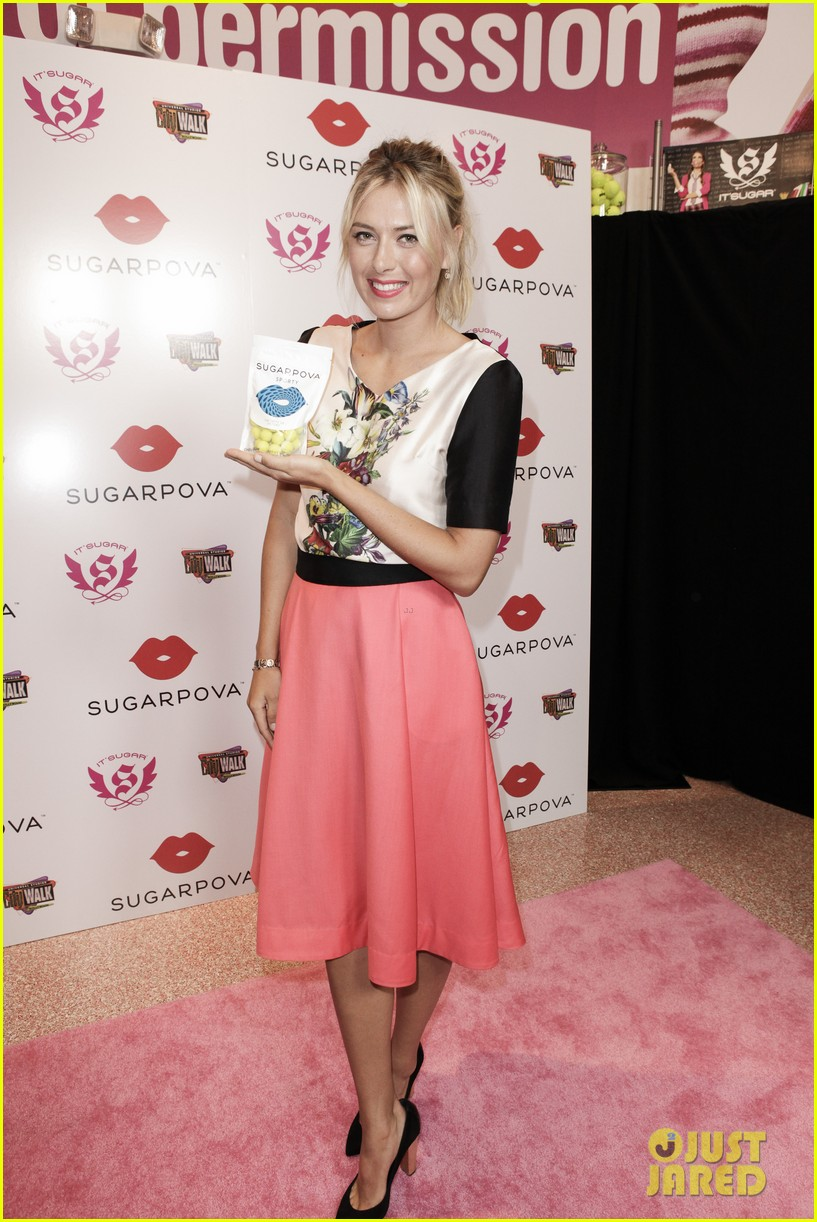 maria sharapova sugarpova candy launch 01