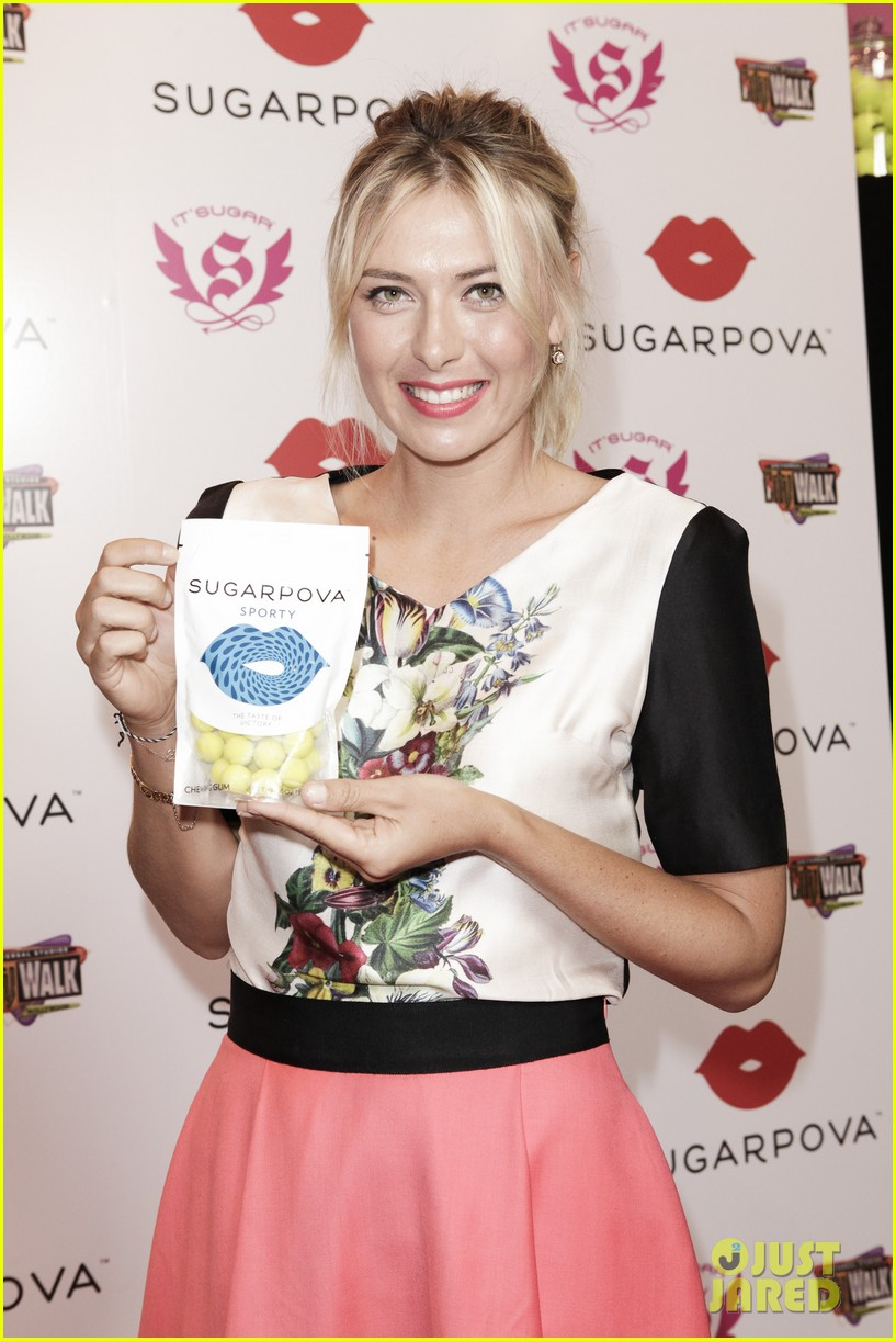 maria sharapova sugarpova candy launch 02