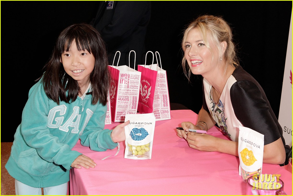 maria sharapova sugarpova candy launch 082775973