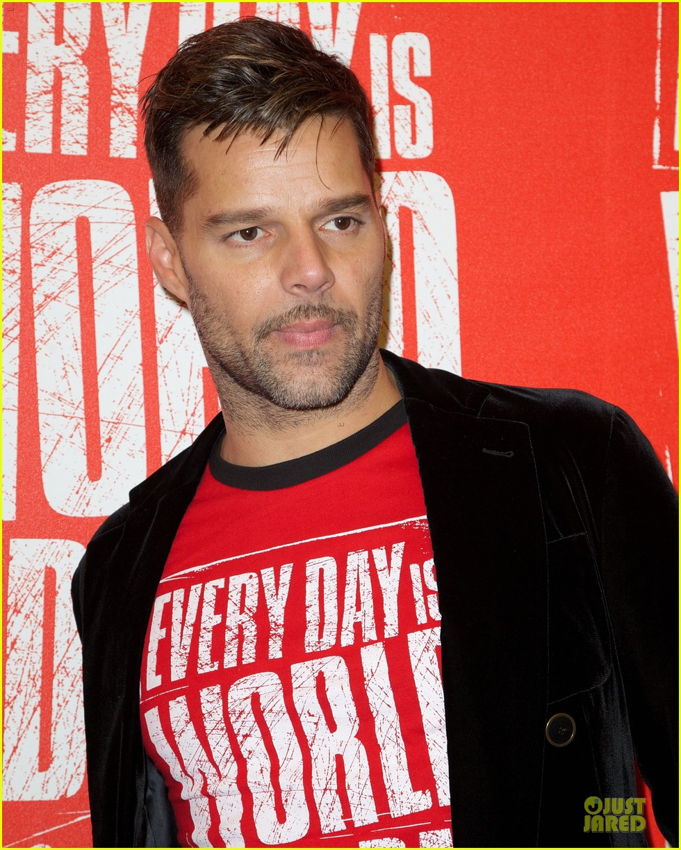 ricky martin world aids day event 16