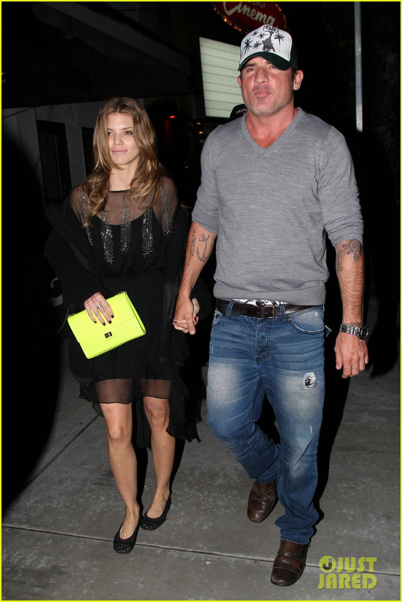 annalynne mccord dominic purcell movie night 03