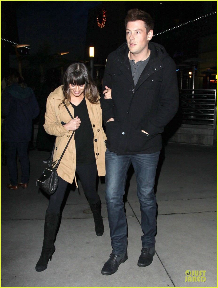 lea michele & cory monteith argo movie date 072778258