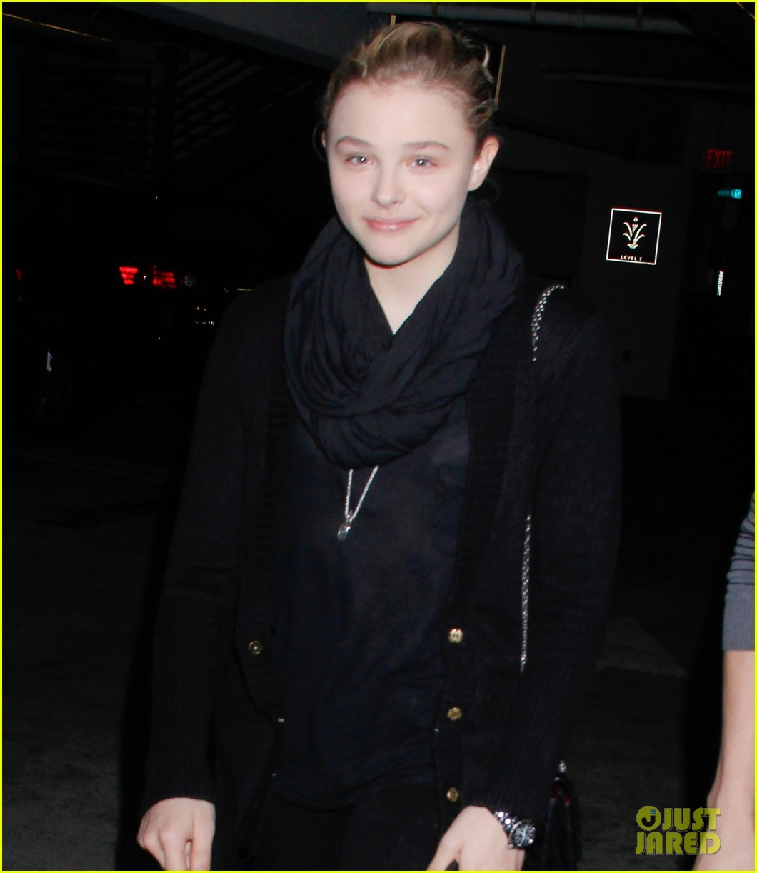 chloe moretz movie night at the grove 052777765