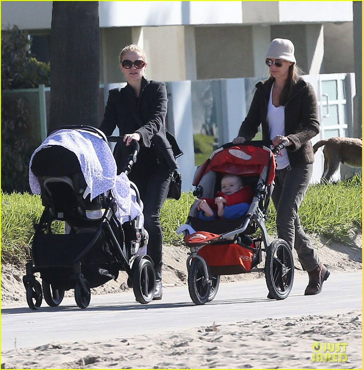 anna paquin venice boardwalk stroll with the twins 08