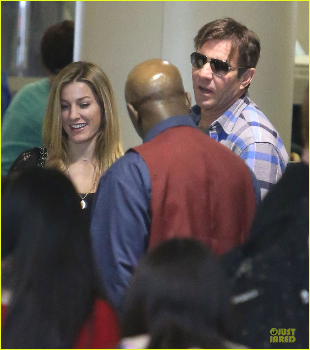 dennis quaid lax departure with a mystery woman 04