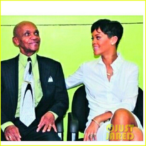 rihanna gran gran dolly memorial at barbados hospital 032780715