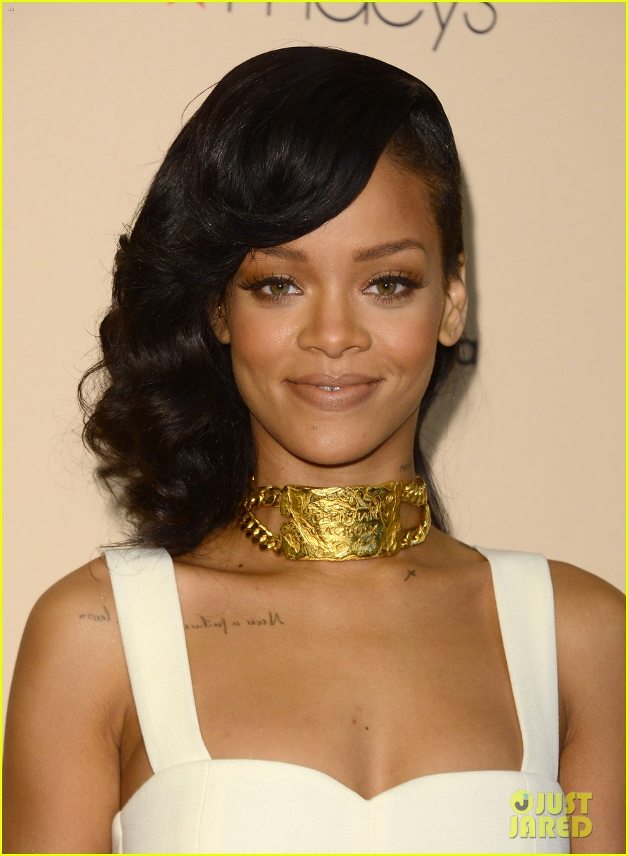 rihanna nude fragrance launch 132767533