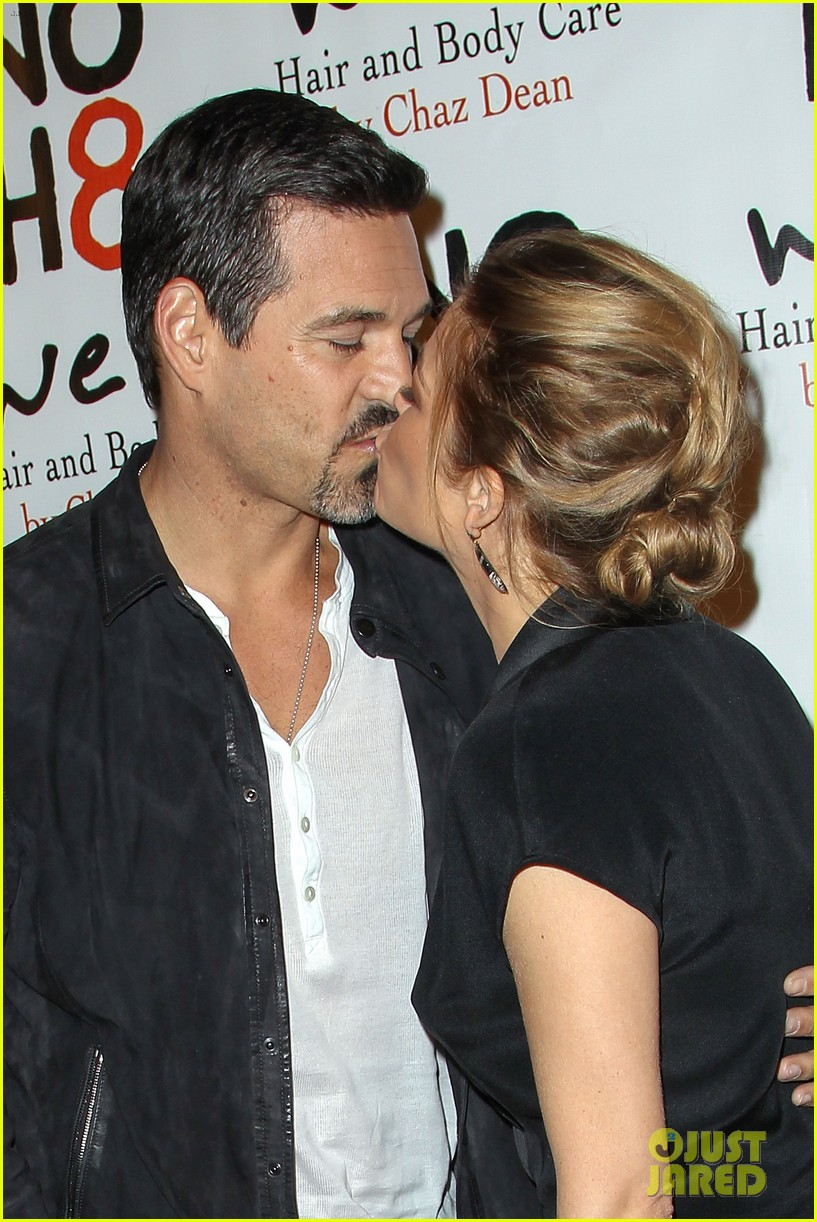 leann rimes eddie cibrian noh8 party kisses 032775163
